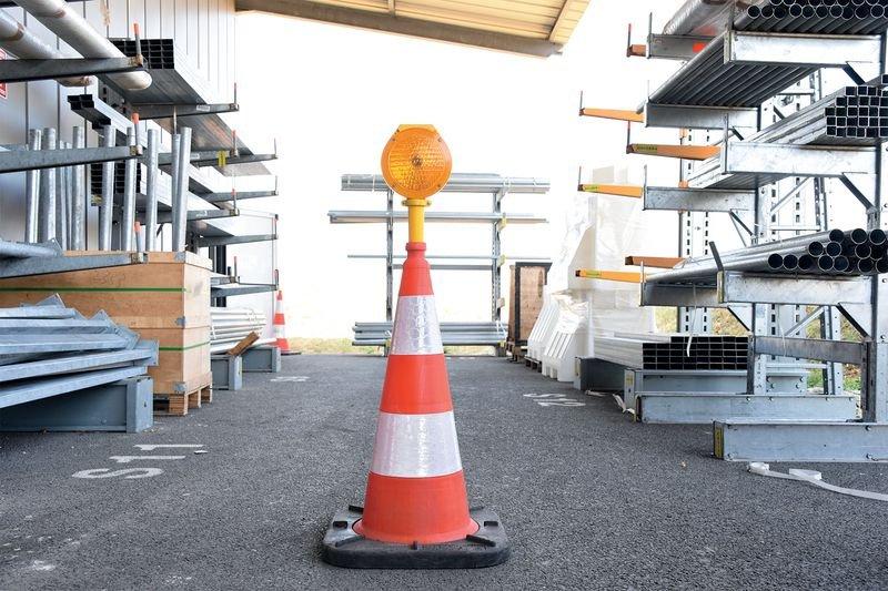 Lampe solaire éco pour cône Ø 200 mm - Lanternes