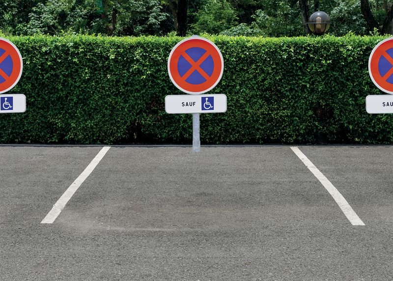 Kit de stationnement places personnes handicapées - Signals