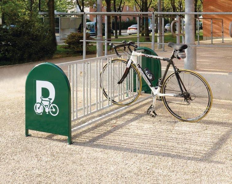 Support cycles 16 places avec signalétique - Signals