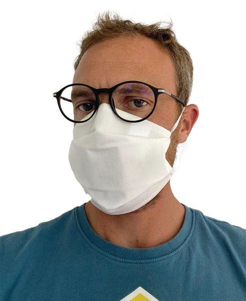 Masque de protection en tissu catégorie 1