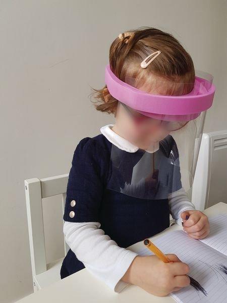 Visières de protection enfant serre tête mousse - Signals