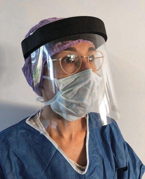 Visière de protection serre-tête mousse - Protection des yeux