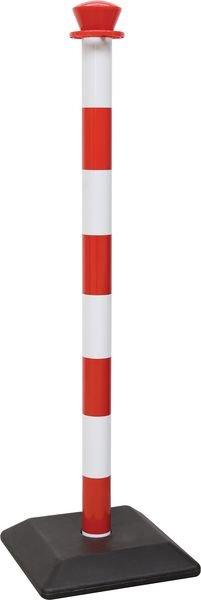 Poteau en plastique avec socle lourd