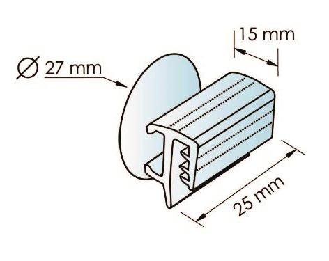 10 grippeurs à ventouse présentation façade - Signals