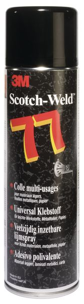 Colle en aérosol 3M multi-usage 77