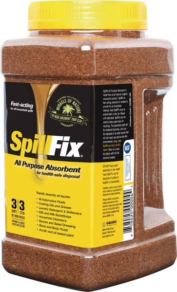 Absorbant en fibres naturelles SpillFix (photo)