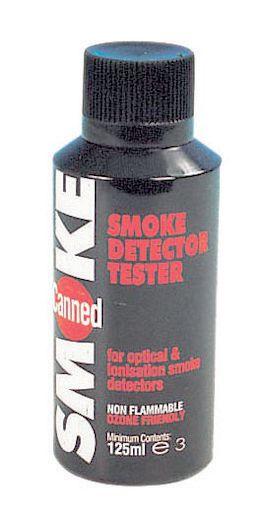Aérosol pour détecteurs de fumée Essai manuel