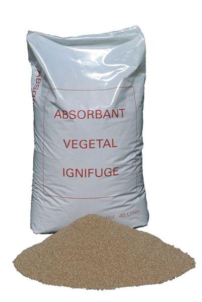 Absorbant d'origine végétale inifugé - lot 5 sacs