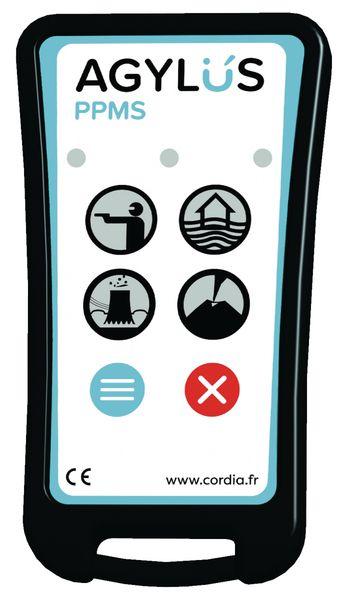 Télécommande AGYLUS pour alarmes PPMS