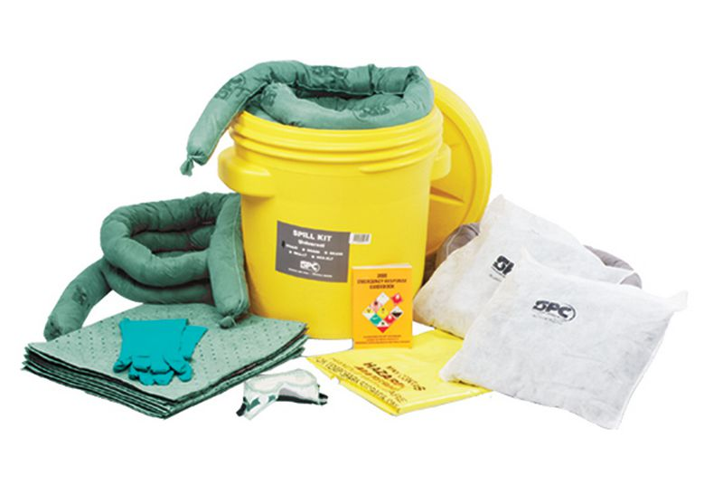 Kit d'absorption 59 l pour produits chimiques