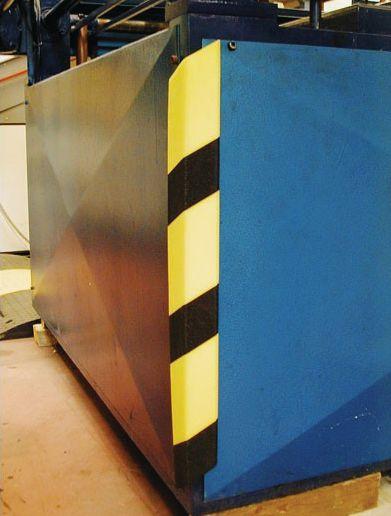 Amortisseurs mousse en polyéthylène (photo)