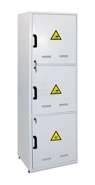 Armoires pour produits dangereux modulables (photo)