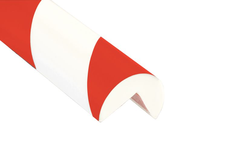 Amortisseurs mousse rouge et blanc (photo)