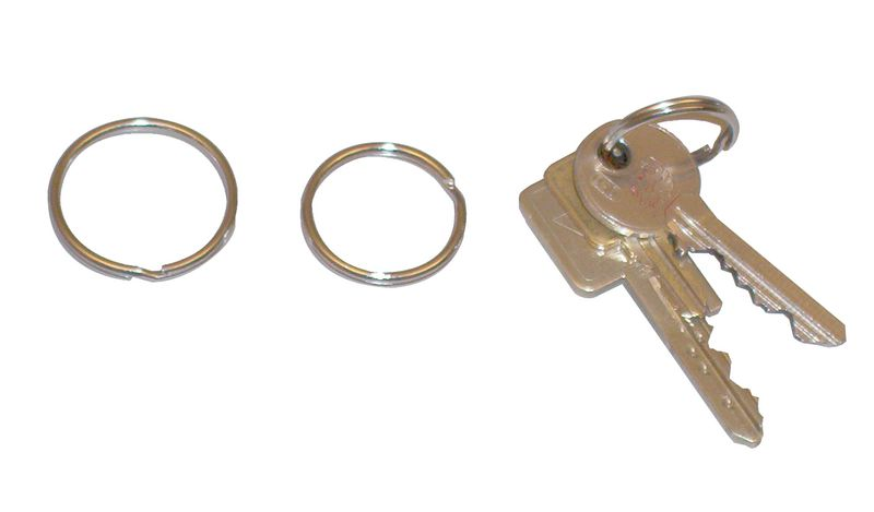 Anneau pour clé ou jeton