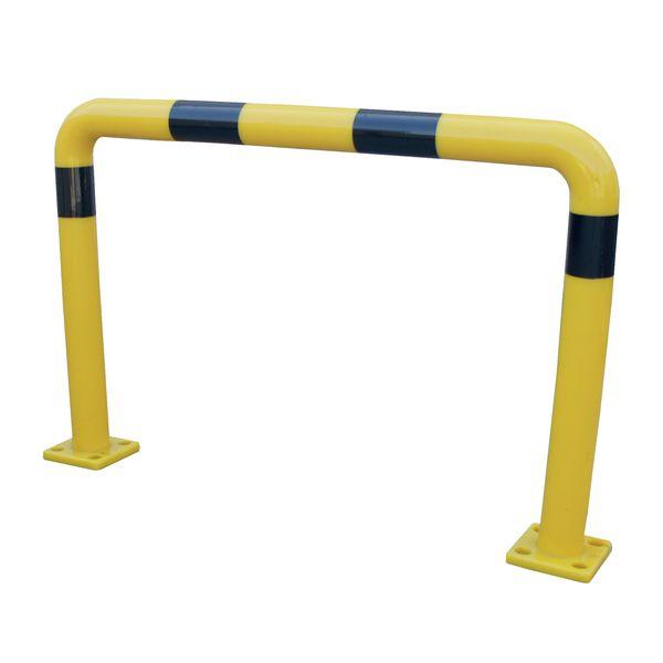 Arceaux flexibles jaunes et noirs (photo)