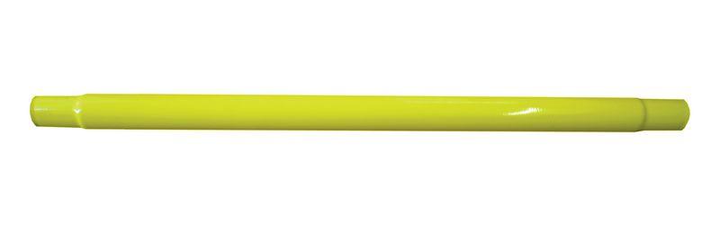 Barrières de protection modulaires jaunes (photo)
