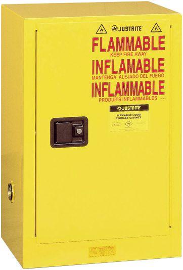 Armoires de sécurité pour produits inflammables (photo)