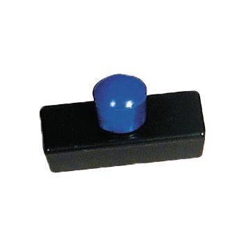 Aimants rectangulaires avec bouton couleur