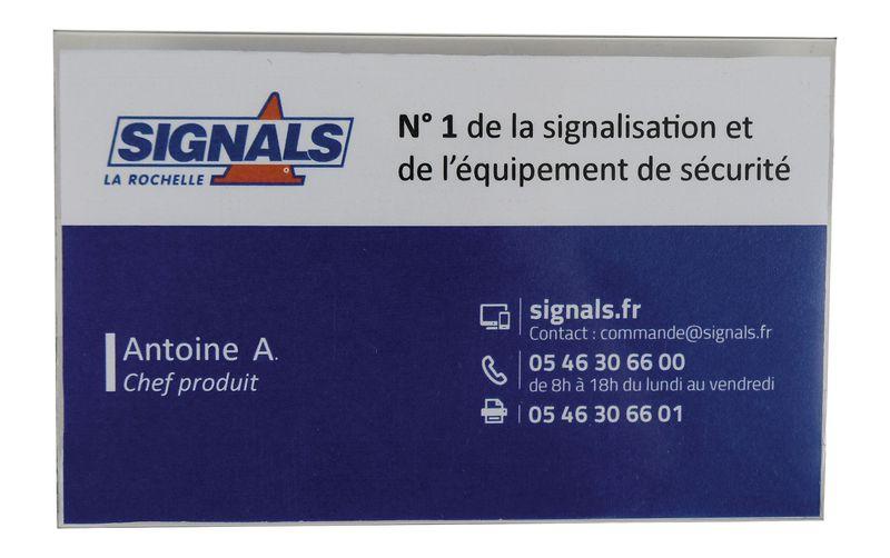 100 Porte-Badges pour cartes 90 x 54 mm (photo)