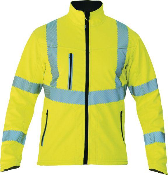 Vestes softshell haute visibilité réversibles (photo)