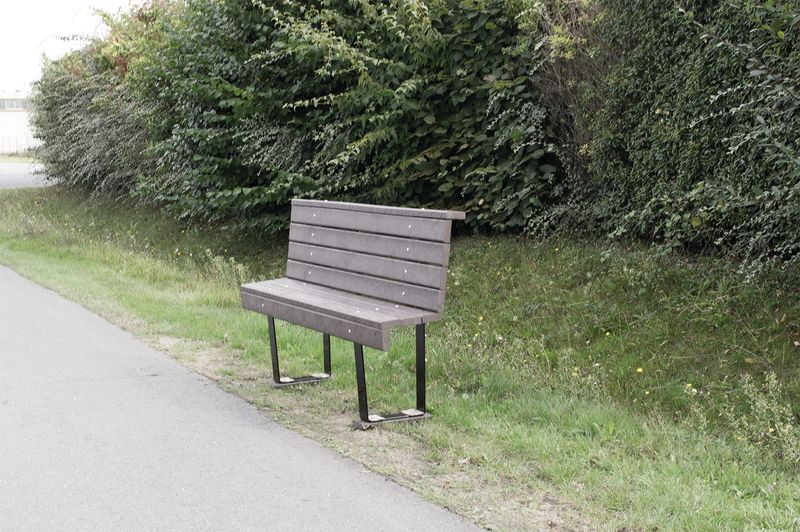 Banc Ergo PMR Plastique recyclé (photo)