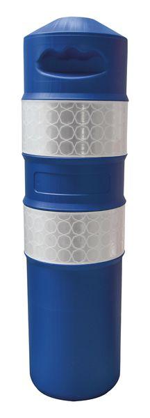 Balise polyéthylène 750 mm + Vis/Cheville (photo)