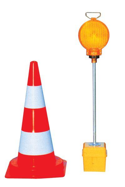 Balise LED pour cône (photo)