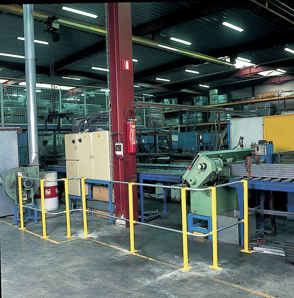 Arceaux modulables de protection d'entrepôt