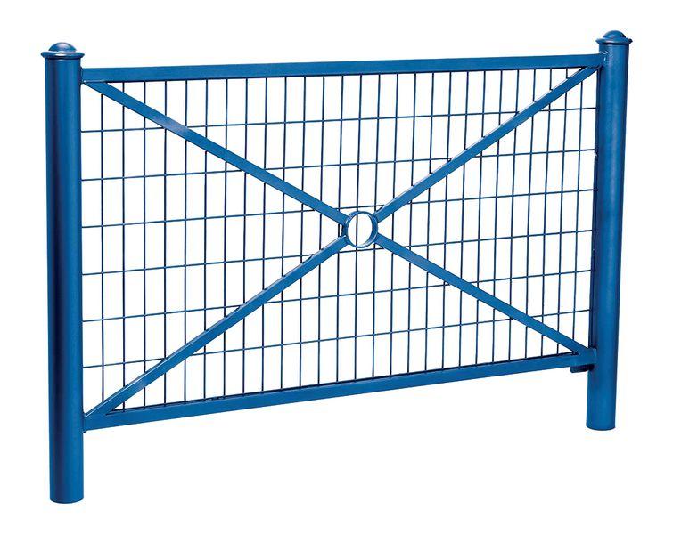 Les barrières croix simple ou grillagée (photo)