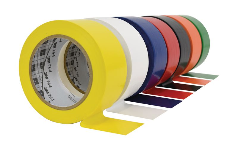 Ruban adhésif multi-usage 764 3M™ 7 coloris