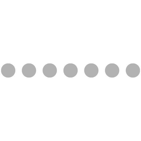 Bande 7 cercles Ø 100 mm ou 4 Ø 180 mm (photo)