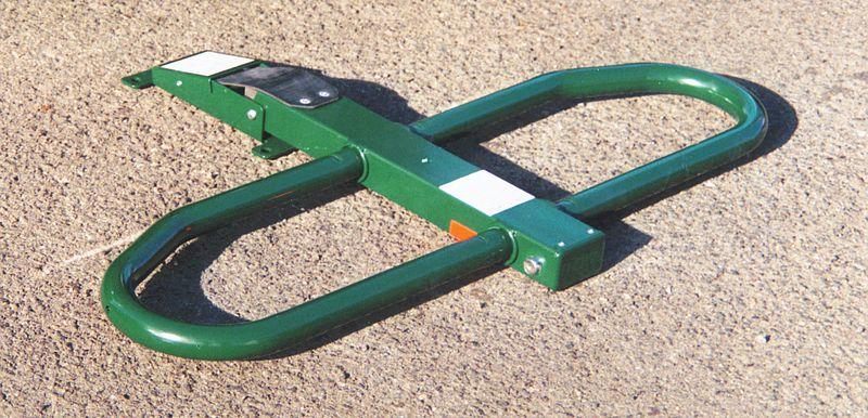 Barrière flexible Protège Parking Galva ou laqué (photo)