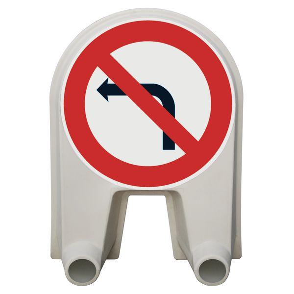Panneau Mistral Défense de tourner gauche Classe 1 ou 2