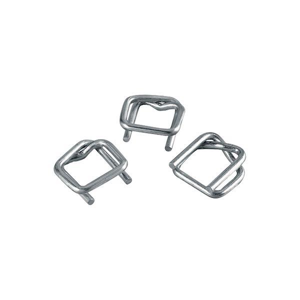 Boucles acier ouvertes feuillard polyester ou textile