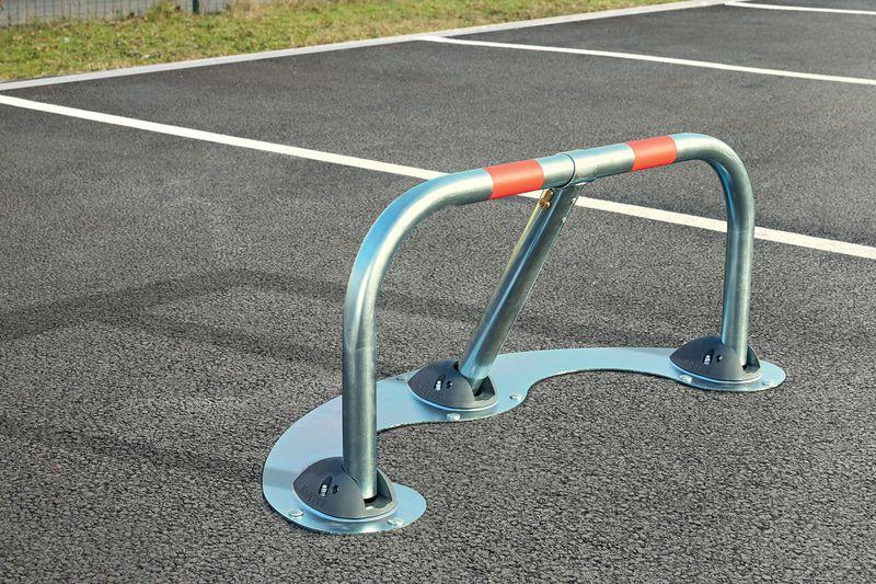 Barrière de parking spéciale macadam sur platine