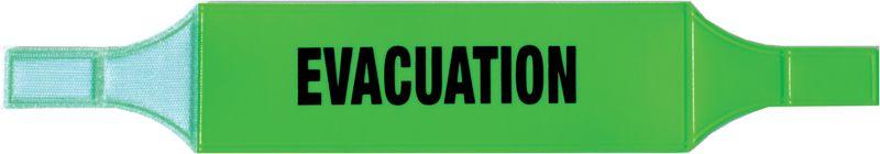 Brassards PVC Sécurité et Evacuation