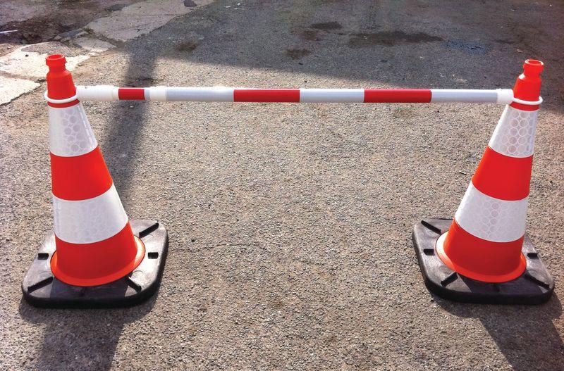Barrage de balisage rapide souple ou rigide