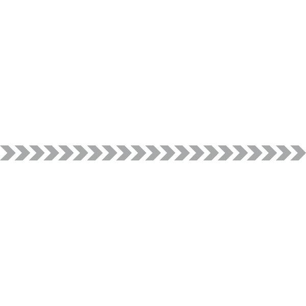 4 bandes autocollantes surfaces vitrées Chevrons (photo)