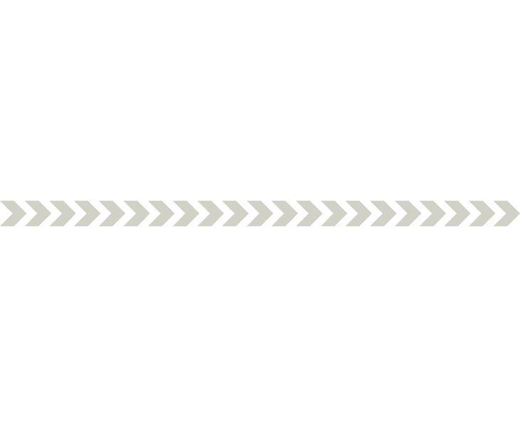 4 bandes autocollantes surfaces vitrées Chevrons