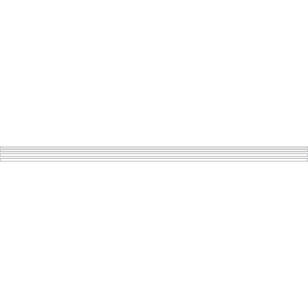 4 bandes autocollantes pour surfaces vitrées Lignes (photo)