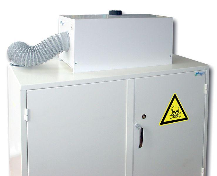 Caisson et kit de filtration pour armoires de sécurité (photo)