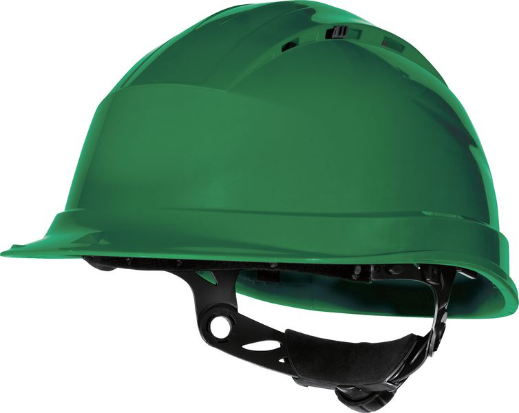 Casques de chantier ventilés avec serrage Rotor® (photo)