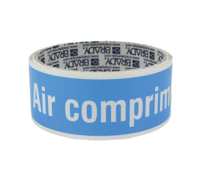 Marqueurs de tuyauterie CLP Air comprimé (photo)