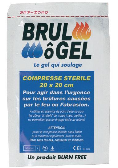 Compresse Brul O Gel gel pour brûlures (photo)