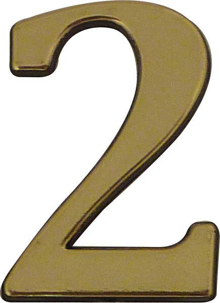 Numéros de maison en laiton ou zamak