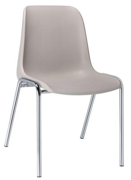 10 chaises coque polypropylène (photo)