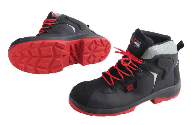 Chaussures semelles isolantes hautes