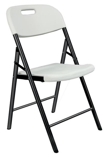 Chaises pliantes en plastique (photo)