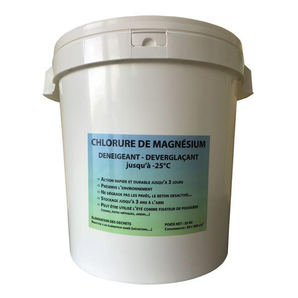 Chlorure de magnésium - Déverglaçant