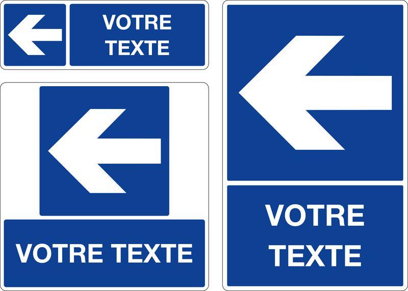 Panneau personnalis fl che signals - Panneau de signalisation personnalise ...